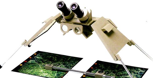 กล้องอ่านภาพถ่ายทางอากาศ SOKKIA รุ่น MS27 | Mirror Stereoscope